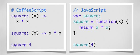 coffeescript compile